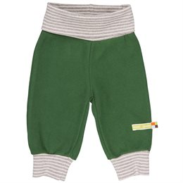 Leichte Fleece Hose mit Softbund grün