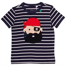 Piraten T-Shirt mit Aufnäher