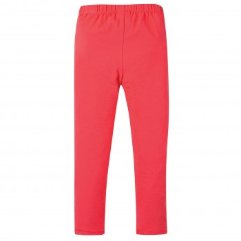 Elastische Leggings in uni pink