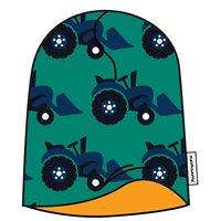 Vorschau: Gefütterte warme Beanie Mütze elastisch doppellagig U-Boot