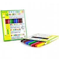 easy Faserschreiber – Filzstifte in 12 verschiedenen Farben