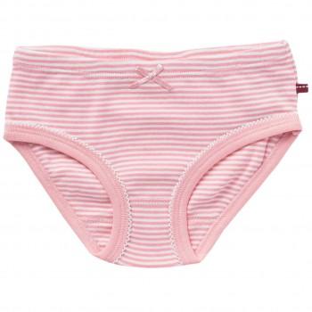 Mädchenslip Ringel rosa