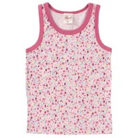 Unterhemd Mädchen Bio rosa mit Seestern