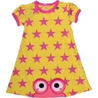 Vorschau: Kleinkind Sommerkleid Sterne - gelb