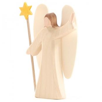 Engel mit Stern für Miniatur Weihnachtskrippe