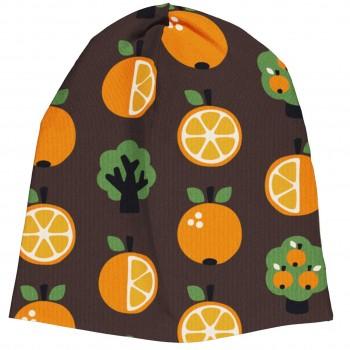 Leichter Beanie Orangen braun
