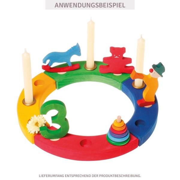 Grimms Zahlenstecker 0 für Geburtstagsring