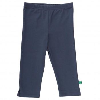 Basic Leggings knielang dunkelblau