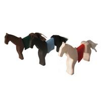 3 Pferde Holzfiguren magic wood