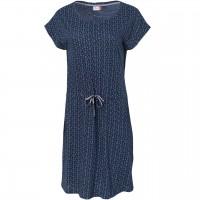 Sportliches Damen Kleid blau