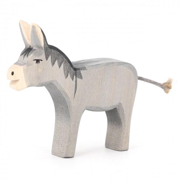 Bremer Esel Holzfigur 10 cm hoch