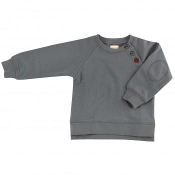 Sweatshirt Pullover in grau