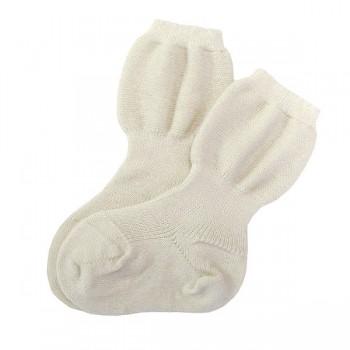 Babysocke - warme Schurwolle - speziell für kräftige Beinche