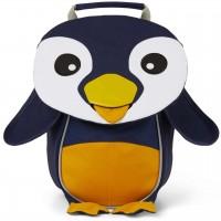 Ergonomischer Rucksack 1-3 Jahre Pinguin navy