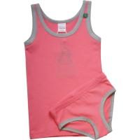 Set Girl 1 Unterhemd 1 Slips Hase