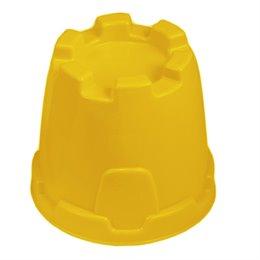 Sandform Burgturm - gelb