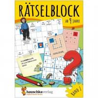 Rätselblock – Rätselspaß für Kinder ab 9 Jahre Bd 1
