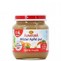 Babybrei Apfel pur für Babys nach dem 4. Monat (125g)
