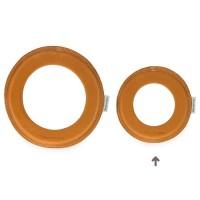 Vorschau: Kleiner super weicher Wurfring LOOP Frisbee ungefärbt
