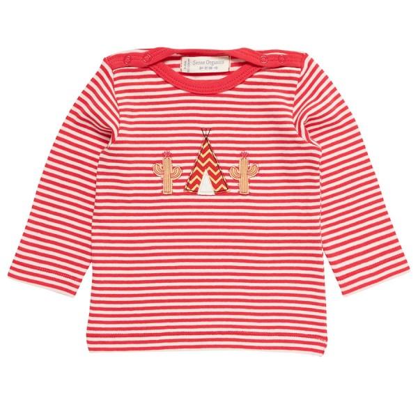 b615779b3c0f Baby Shirt breite Kopföffnung rot   greenstories