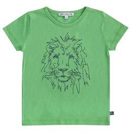 Löwen Shirt kurzarm grün