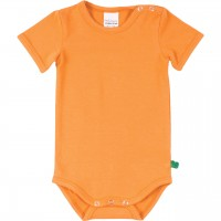 Basic Body kurzarm in hellem orange