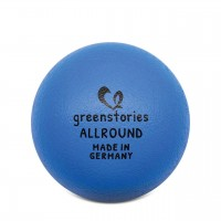 Allround Ball 18 cm blau