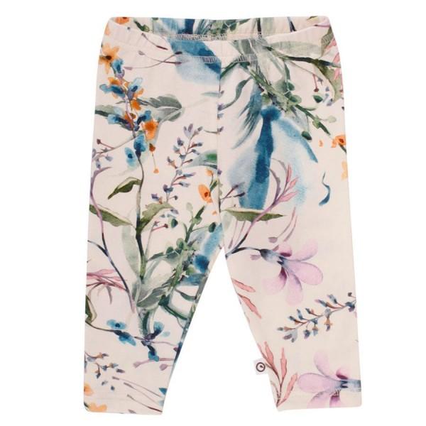 Hochwertige Leggings Retro Blumen-Design