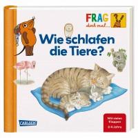 Klappenbuch Frag die Maus Tiere Schlafen ab 2 Jahre