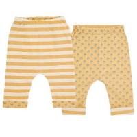 Bio Wendehose für Babys - doppellagig - gelb