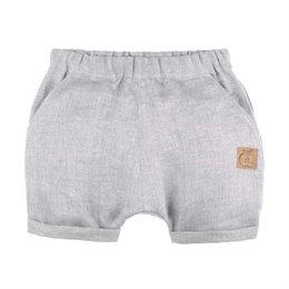 Leichte Leinen Shorts grau