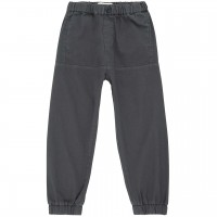 Robuste Twill Outdoorhose in navy