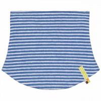 Schlauchschlal Fleece zum Wenden in blau