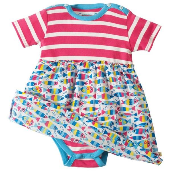 Body und Kleid in einem - Sommeroutfit