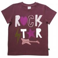Mädchen T-Shirt Rock Star