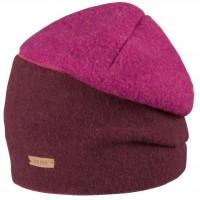 Winter Beanie Mütze weiche Wolle pink