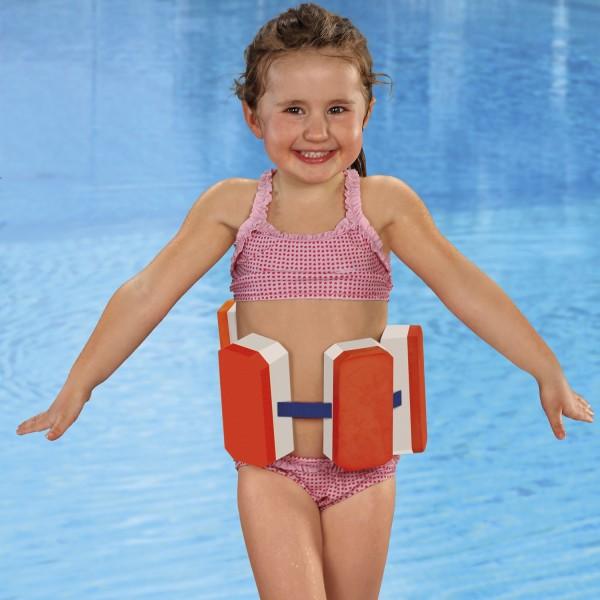 Schwimmlernhilfe 4-5 Jahren - mit verstellbaren Gurt