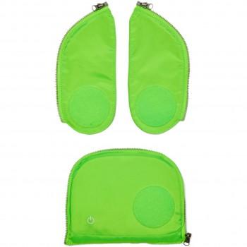 Sicherheitsset mit LED Lichtern (grün)