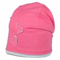 Süsse Mädchen Beanie pink mit Herz