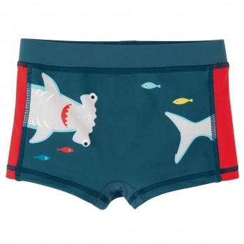 Badehose für Jungen - Hammerhai blau