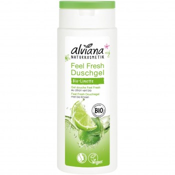 Naturkosmetik Feel Fresh Duschgel Bio-Limette (250ml)