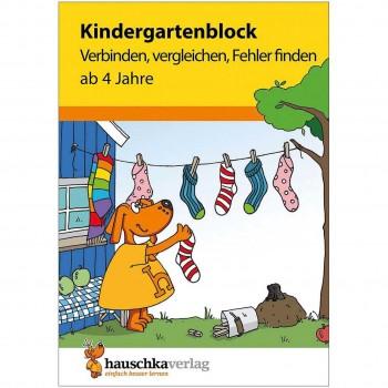 Kindergarten Rätselblock ab 4 Jahre