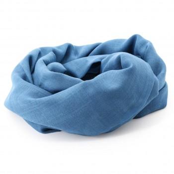 Spieltuch aus Wolle 150x130 cm blau
