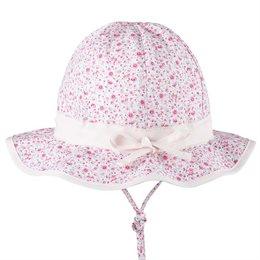 Sommerhut Kleinkind verstellbar Blume rosa