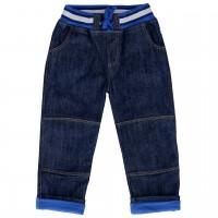 Jeans mit Jerseyfutter dunkelblau