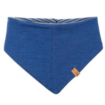 Winter Dreiecktuch Klett nautic-blau