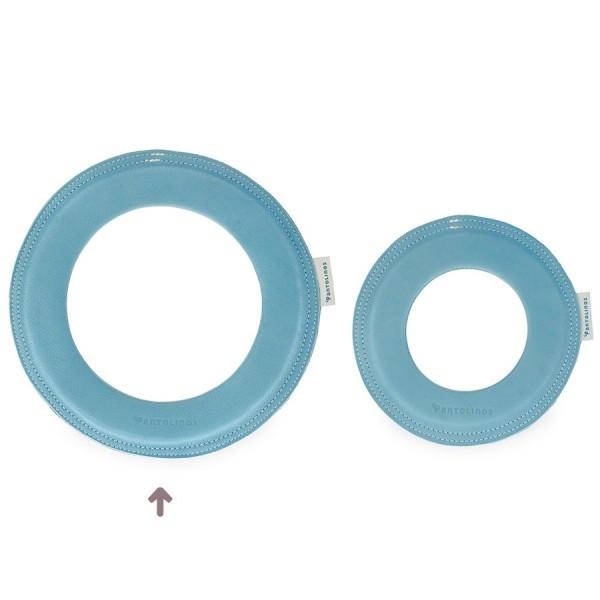 Grosser super weicher Wurfring LOOP Frisbee blau