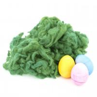 Ostergras Flocke, pflanzengefärbt Grasgrün 40 g