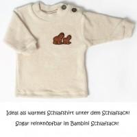 """Warmes Langarmshirt """"Frottee Sweaty"""" für Schlafsack"""