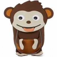 Ergonomischer Rucksack 1-3 Jahre Affenzahn braun